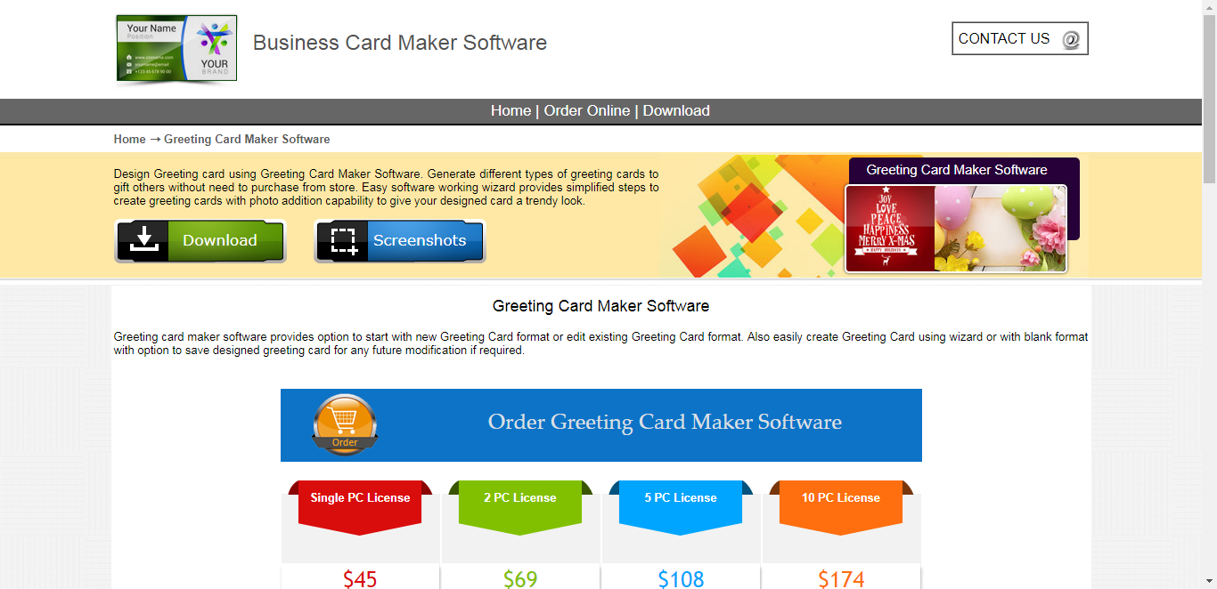 Best free greeting card maker software alternative 101 9drpu greetingcardmaker software design your own greeting card kristyandbryce Image collections