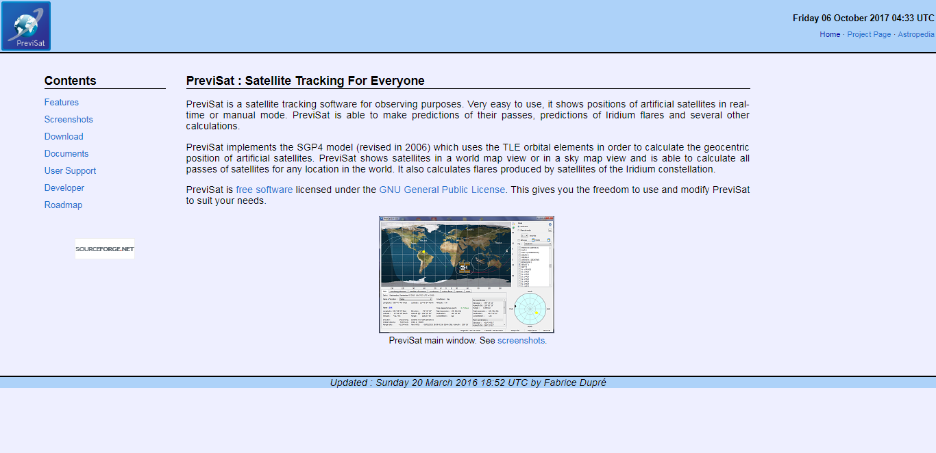 Top Free Satellite Tracking Software For Windows Linux Mac